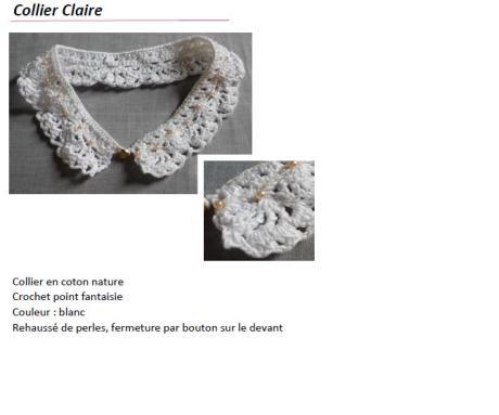 Collier claire
